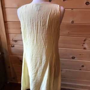 Soft Surroundings yellow sundress, size PL